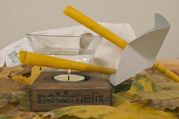 درمان با شمع ماساژ