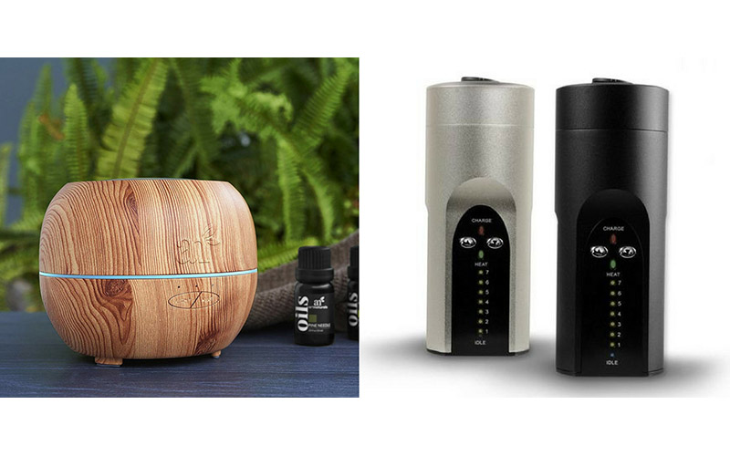 مقایسه دستگاه پخش کننده عطر روغن ماساژ